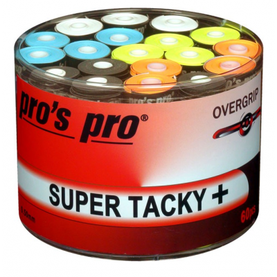 Pros Pro Super Tacky + Overgrips 60 Pack Bucket