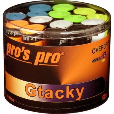 Pros Pro G-Tacky Overgrips 60 Pack Bucket